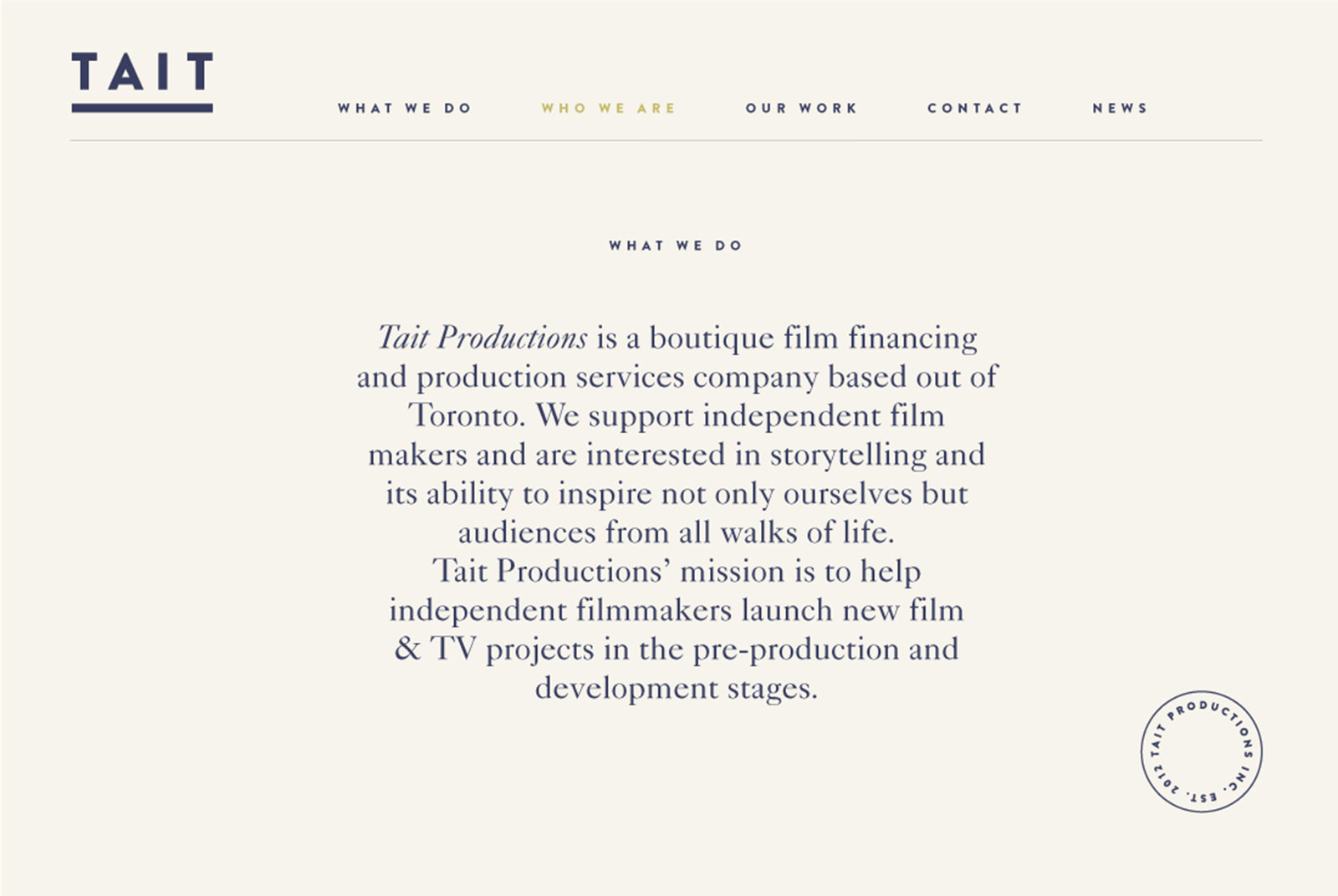 TAIT Productions