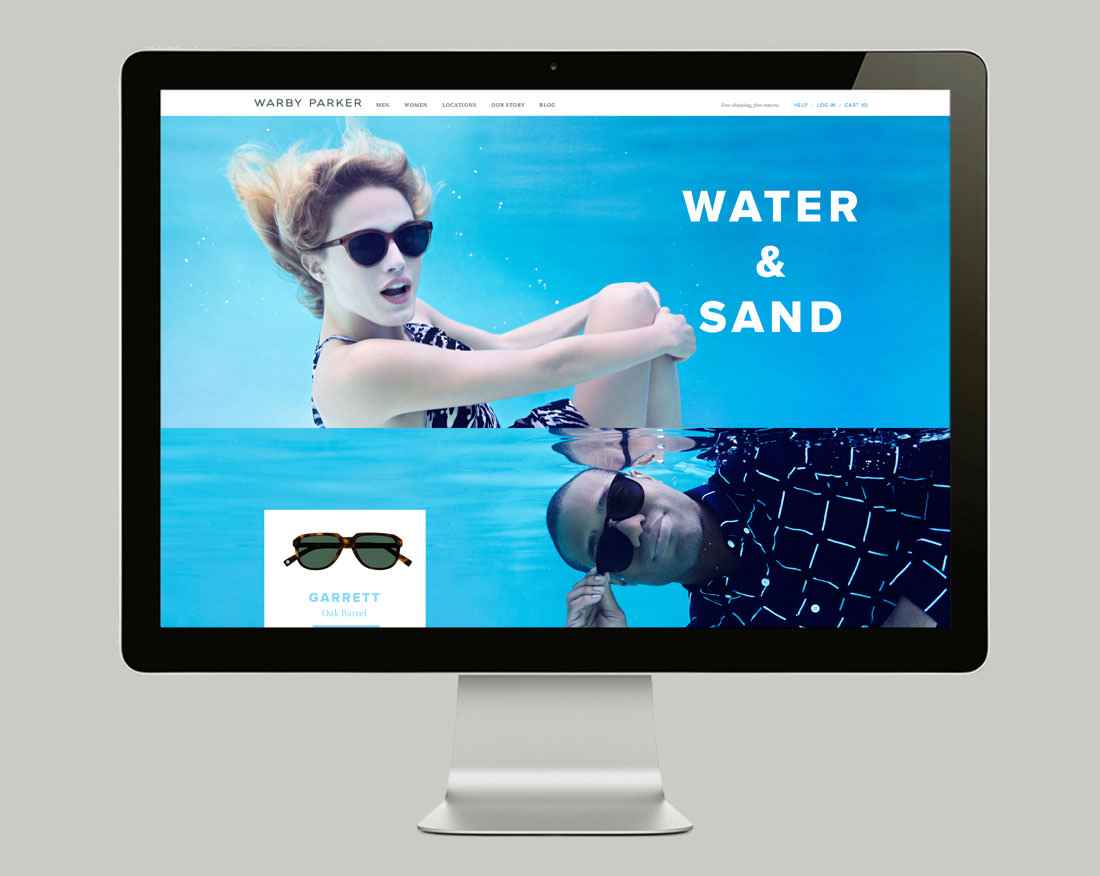 Warby Parker Water and Sand 2014